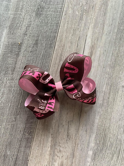SALE Cowgirl Loopy Bow
