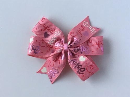 Love Mini Pinwheel Bow