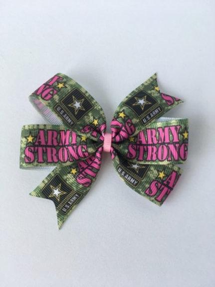Army Strong mini pinwheel bow