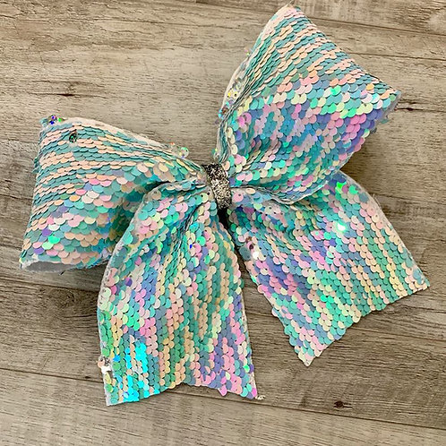Under the Sea Flip Sequin Cheer Bow
