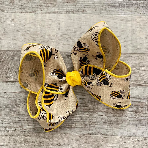 Bumblebees Loopy Bow