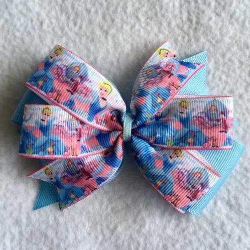 Cinderella Double Pinwheel Bow