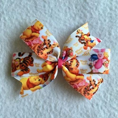 Winnie the Pooh Mini Pinwheel Bow