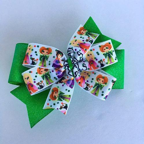 Squad Goals double pinwheel bow