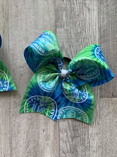Bevis Elementary Cheer Style Bow