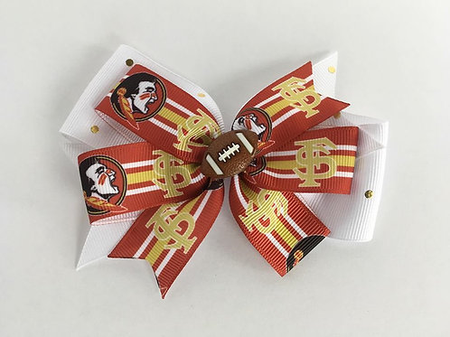 Florida State Seminoles double pinwheel bow