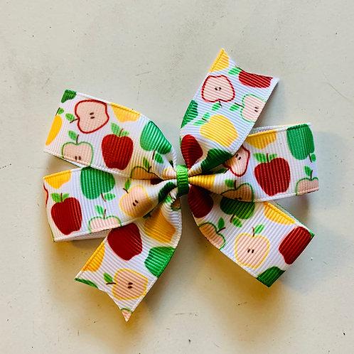 Apple Mini pinwheel bow