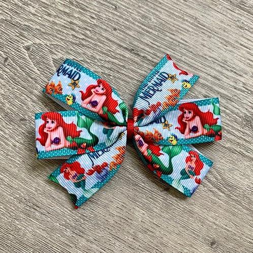 Ariel Mini Pinwheel Bow