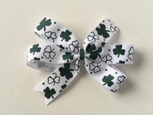 Clovers Mini Pinwheel Bow