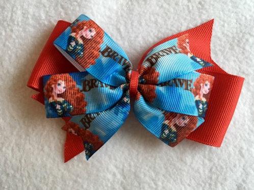 Brave Double Pinwheel Bow