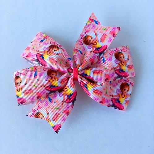 Fancy Nancy Mini Pinwheel Bow