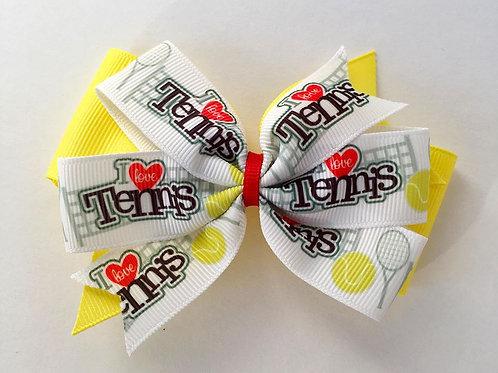 Tennis double pinwheel bow