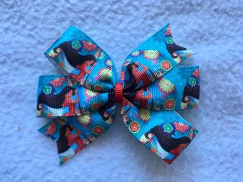Elena of Avalor Mini Pinwheel Bow