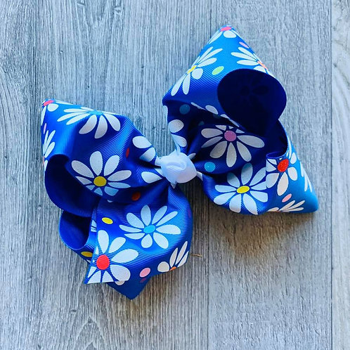 Daisies Texas Size Loopy Bow