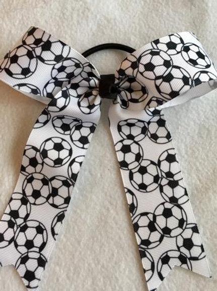 Soccer Cheer Bow