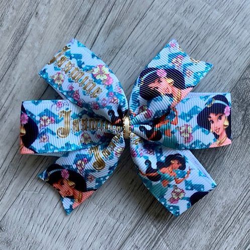 Jasmine mini pinwheel bow