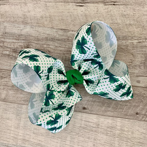 Shamrock Loopy Bow