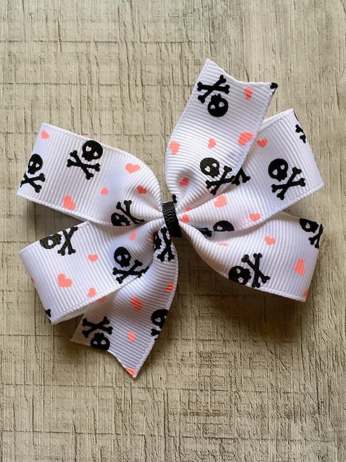 Pirates mini pinwheel bow