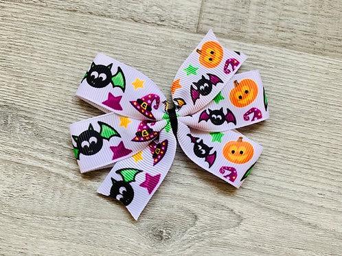 Halloween Mini pinwheel bow