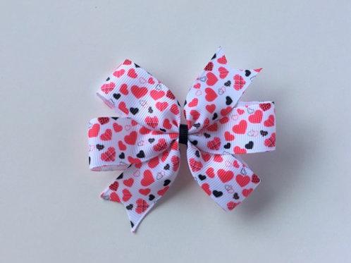 Valentine's Day Mini Pinwheel Bow