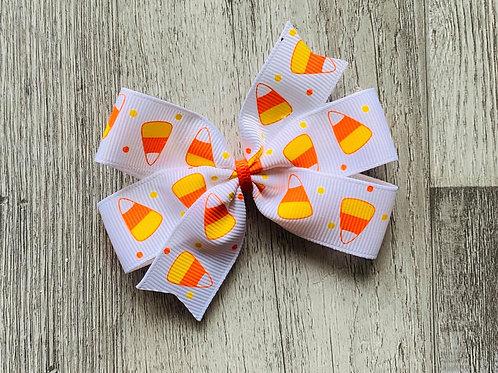 Candy Corn  Mini pinwheel bow