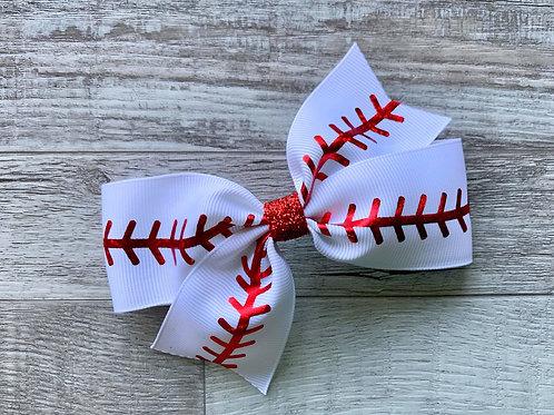 Baseball single loop bow