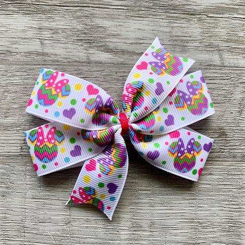 Easter Egg Minnie Mouse Mini Pinwheel Bow
