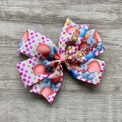 Dumbo Mini Pinwheel Bow