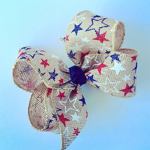 Burlap USA Loopy Bow