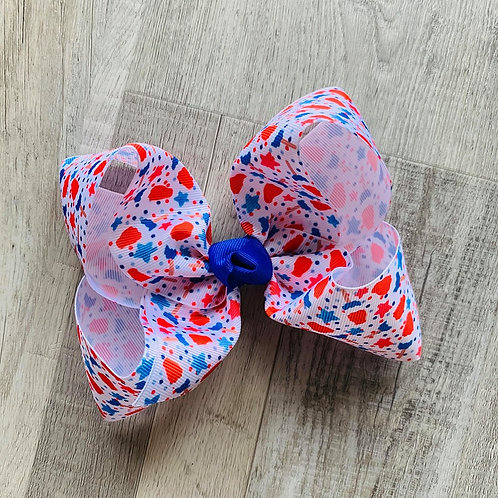 USA Popsicle Loopy Bow