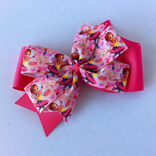 Fancy Nancy Double Pinwheel Bow