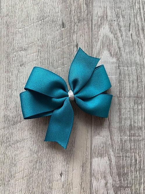 SALE turquoise mini pinwheel