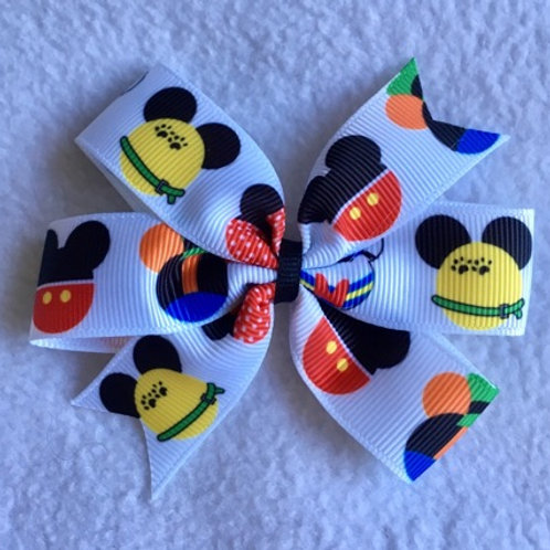Mickey friends Mini Pinwheel Bow