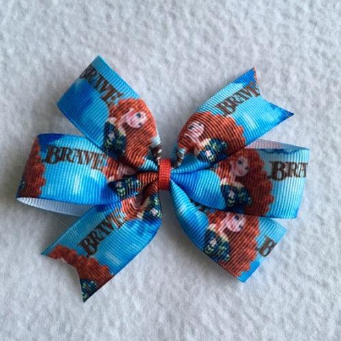 Brave Mini Pinwheel Bow