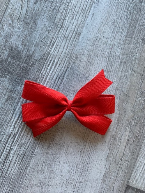 SALE red mini pinwheel