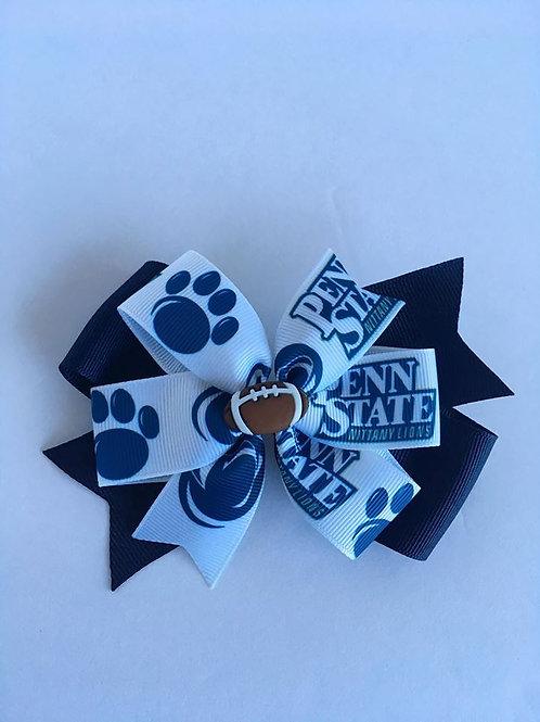 Penn State Lions double pinwheel bow