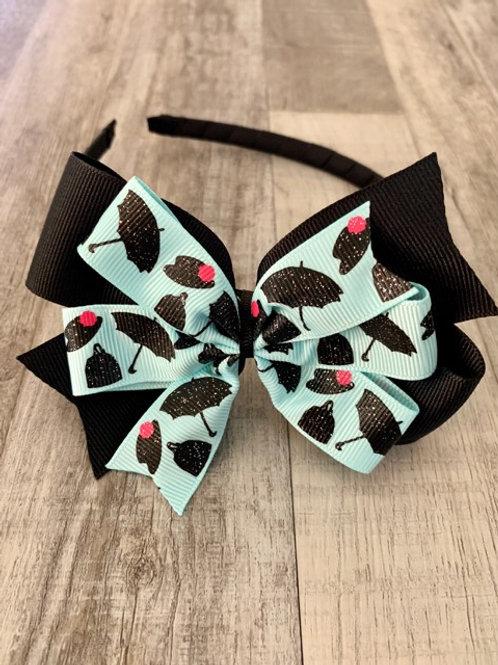 Mary Poppins Double Pinwheel Bow