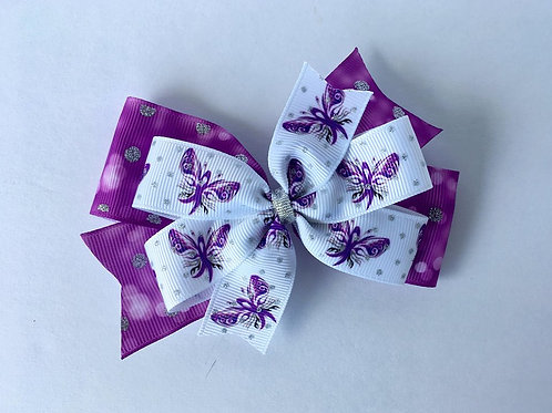 Crohn's Disease Double Pinwheel Bow