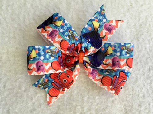 Nemo & Friends Mini Pinwheel Bow