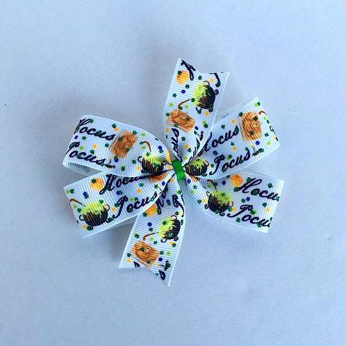 Hocus Pocus mini pinwheel bow