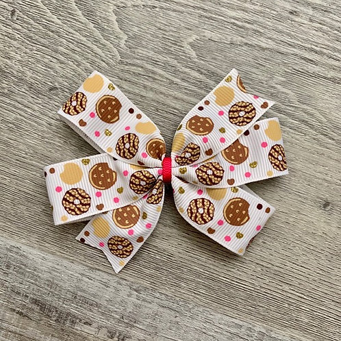 Girl Scout cookie mini pinwheel bow