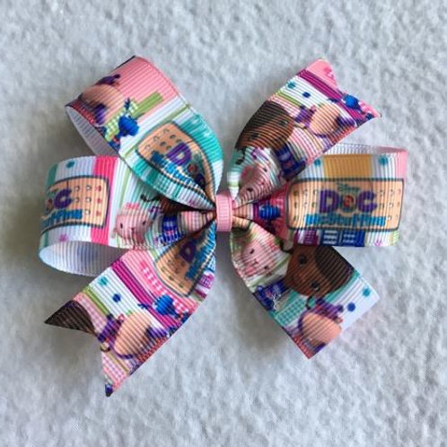 Doc McStuffins & friends Mini Pinwheel Bow
