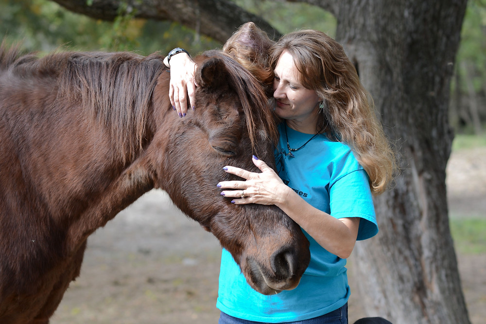 Personal Brand Photography - Equine health specialist