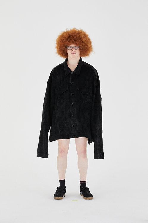 OLOAPITREPS JUMBO COAT BLACK