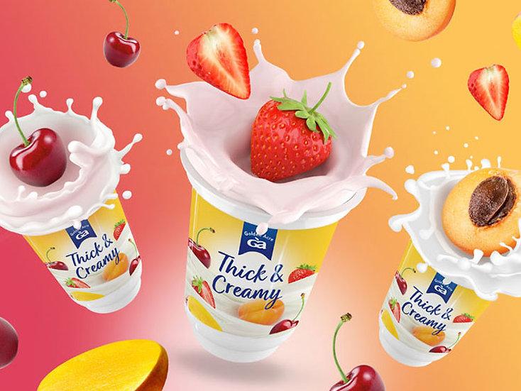 Thick & Creamy Yoghurts (150g each)