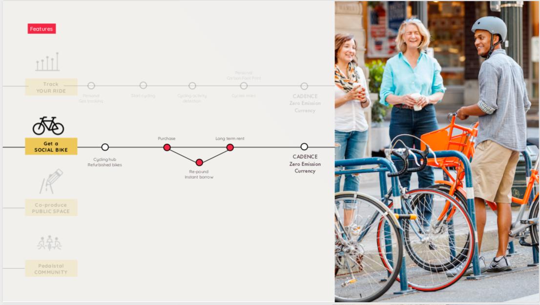 Get a social bike