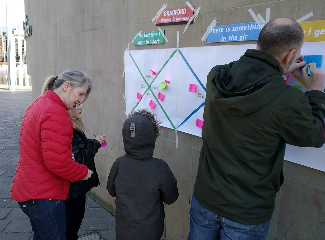 Street Interventions and Interviews with citizens
