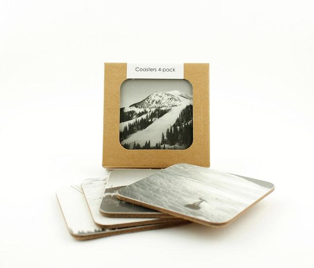 Coasters 4-pack