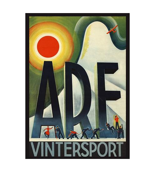 Åre Vintersport Poster