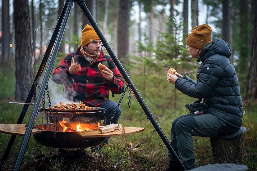 Stekhäll Dalum 50Ø, lättviktsmodell med väska